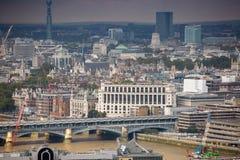 City of London panorama, London bridge Stock Images