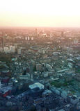 City of London panorama in sunset. Stock Photo
