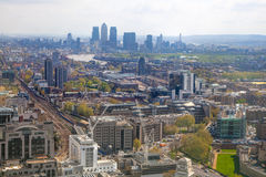 City of London panorama Stock Photography