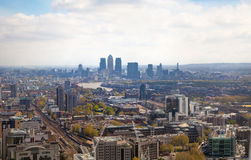 City of London panorama Royalty Free Stock Images