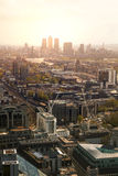 City of London panorama Royalty Free Stock Photography