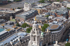 City of London panorama. Royalty Free Stock Images
