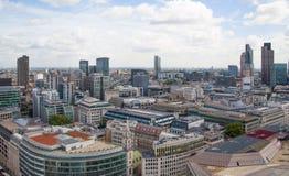 City of London panorama. Royalty Free Stock Photos