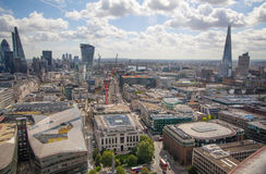 City of London panorama. Stock Images