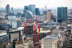 City of London panorama, Stock Image