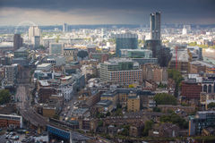 City of London panorama, Royalty Free Stock Image