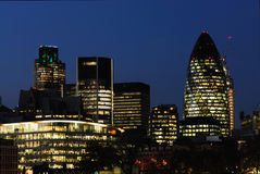 City of London Skyline Royalty Free Stock Photos