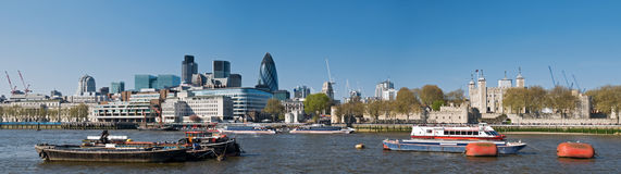 City of London skyline Stock Image