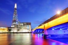 City of London skyline. City of London skyline at sunset, UK Royalty Free Stock Image