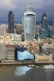City of London - Skyscrapers Stock Images