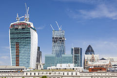City of London Skyscrapers Stock Photos