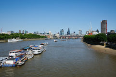 City of London in summer Royalty Free Stock Images