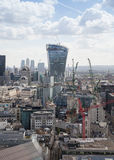 City of London, Walkie Talkie building Stock Photos