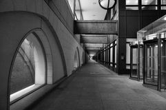 City of London walkway Royalty Free Stock Image