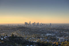 City of Los Angeles at Dawn Stock Photography