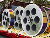 The City Of Los Angeles Rose Bowl Float Stock Image
