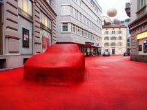 City Lounge in St. Gallen, Switzerland Royalty Free Stock Image
