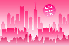 City love Royalty Free Stock Photo