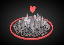 City love Royalty Free Stock Photography