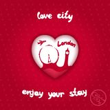 City of love Stock Photos