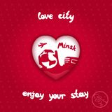 City of love Royalty Free Stock Image