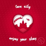 City of love Royalty Free Stock Photo