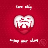 City of love Stock Images