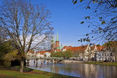 City of Lubeck, Germany Royalty Free Stock Photo