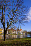 City of Lubeck, Germany. Skyline of the medieval city of Lubeck, Germany Royalty Free Stock Photography