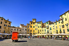City of Lucca, Italy Royalty Free Stock Photography