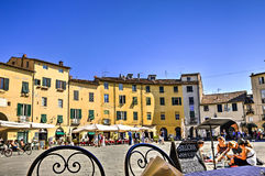 City of Lucca, Italy Stock Image