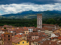 City of Lucca Stock Photo