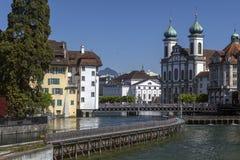City of Lucerne - Switzerland Royalty Free Stock Images
