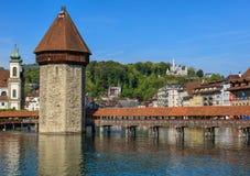 City of Lucerne, Switzerland Royalty Free Stock Images