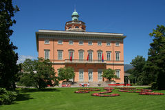 City of Lugano, Switzerland. Ciani Park, Lugano, Ticino, Switzerland Stock Photo