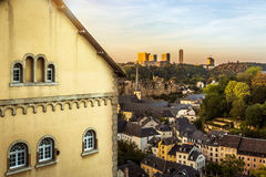 City of Luxembourg  Royalty Free Stock Image