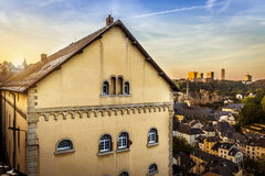 City of Luxembourg Stock Photo