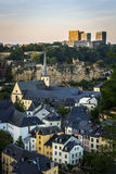 City of Luxembourg Stock Photos