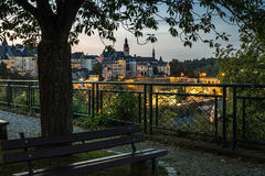 City of Luxembourg Royalty Free Stock Photography