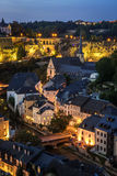 City of Luxembourg Stock Image