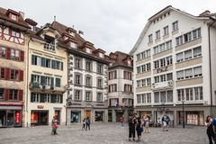 City of Luzern, Switzerland Royalty Free Stock Images