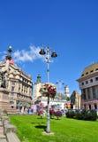 City of Lviv in Ukraine Stock Images