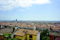 The city of Lyon Stock Photography