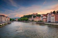 City of Lyon, France. Royalty Free Stock Photography
