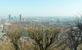 City of Lyon Royalty Free Stock Photos