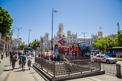 City of Madrid Royalty Free Stock Images