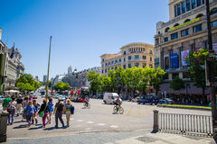 City of Madrid Royalty Free Stock Photography