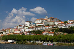 City magnet Coimbra in summer Royalty Free Stock Photo