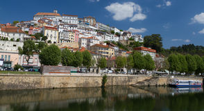 City magnet Coimbra in summer Stock Photography