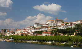 City magnet Coimbra in summer Royalty Free Stock Photos